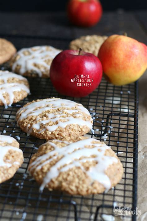 oatmeal applesauce cookies bake to the roots