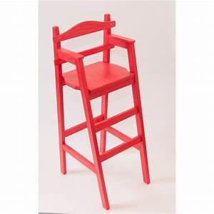Chaise De Bar Rouge : chaise haute enfant pour table bar ~ Teatrodelosmanantiales.com Idées de Décoration