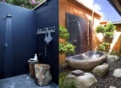 Outdoor Showers : 20 Irresistible Outdoor Shower Designs For Your Garden
