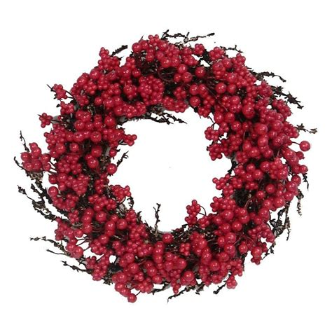 red berry wreath wreaths savvy entertaining