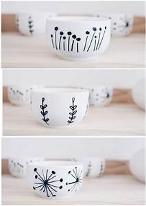 Porzellan Und Keramik : die besten 25 keramik bemalen ideen auf pinterest porzellan bemalen sharpie tasse und ~ Markanthonyermac.com Haus und Dekorationen