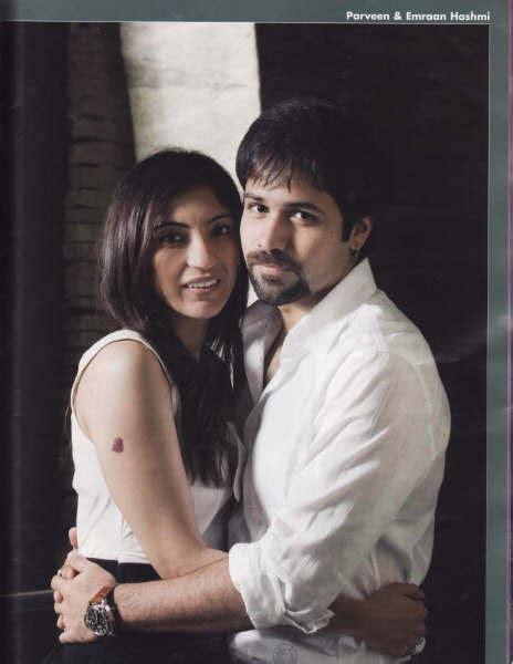 bollywood mag emraan hashmi  wife parveen