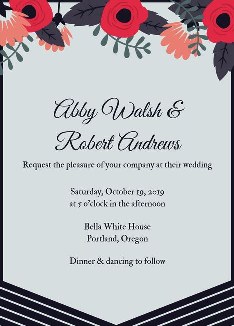fabulous  wedding invitation templates