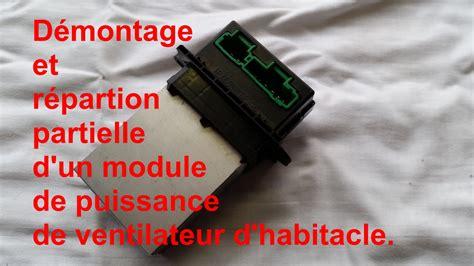 siege clio 2 phase 2 comment démonter un régulateur de vitesse de ventilateur d