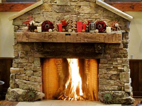 decorate  mantel  winter hgtv