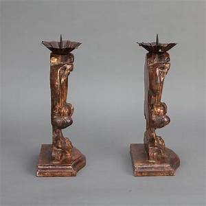 italian large bronze carved wood candle holder amphoras With kitchen cabinets lowes with antique silver candle holder