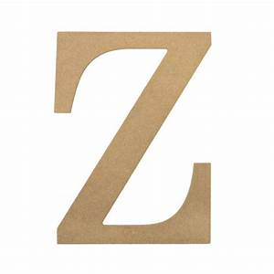 10quot decorative wood letter z ab2050 craftoutletcom With wooden letter z