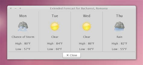 Install A Weather Indicator Applet With Notifications