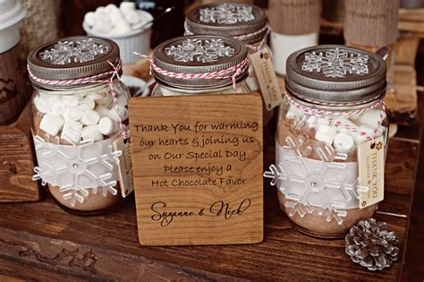 Memorable Wedding Using Mason Jars As Wedding Favors