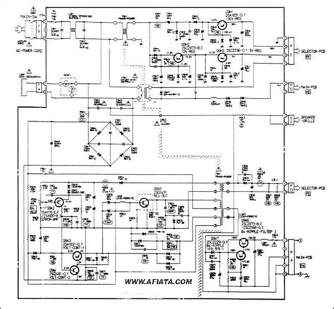 Vcr Antenna Switch Circuit Diagram by Lcd Tv Power Supply Circuit Diagram Electronic Circuit