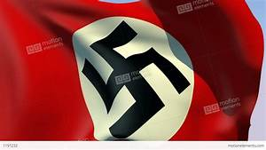 Flag Of Third Reich (Germany 1935-1945) Stock Animation ...