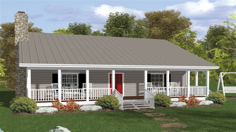 Home Plans With Front Porch by Country House Plans With Porches Country House Plans With