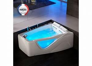 Baignoire Pour 2 : baignoire baln o asym trique 47 jets baignoire baln o ~ Edinachiropracticcenter.com Idées de Décoration