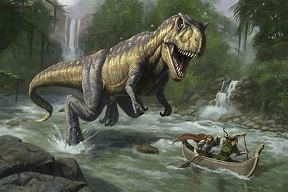 Dinosaur Wallpapers Dinosaurs Dino Rex Chasing Labels