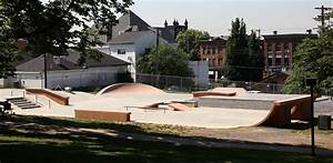 Wrapping up Phase-2 of Bellevue, PA Skate Plaza   Spohn Ranch