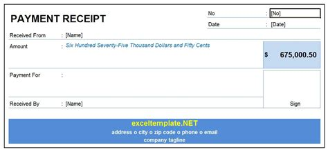receipt payment template 28 images receipt of payment