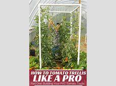 Easy PVC Tomato Trellis Part One