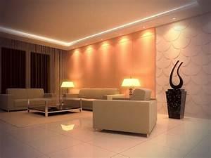 Spot Plafond Salon : clairage led et types de luminaires dans le salon parfait ~ Edinachiropracticcenter.com Idées de Décoration