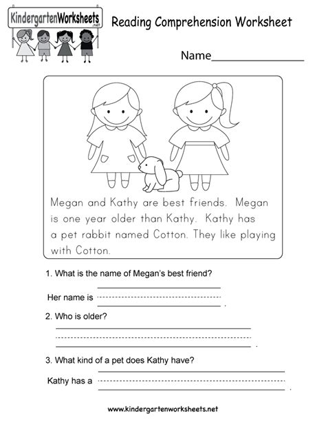 search results  reading comprehension worksheets