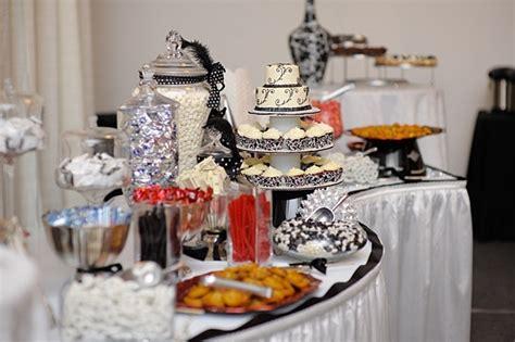 buffet table decorating ideas   set elegant