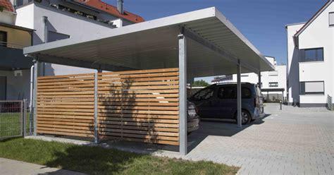 carport aus stahl individuelle carports projekt w systeme aus stahl