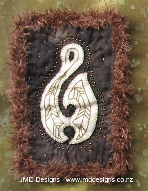 mini maori bone carvings applique