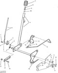 Yard Machine Mower Deck Diagram by Exploded Diagram Of How The Mower Deck Attaches To The