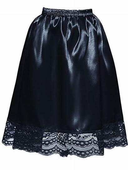 Satin Slip Half Lace Womens Pleasure Gemsli