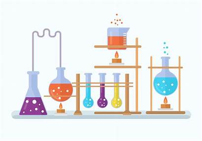 Chemistry Vector Lab Clipart Experiment Illustration Laboratory