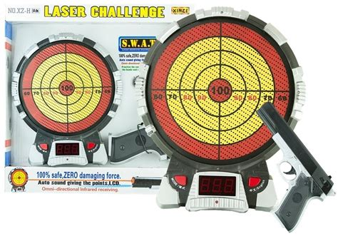 Laser Pistole With Target Electronic Shooting Game