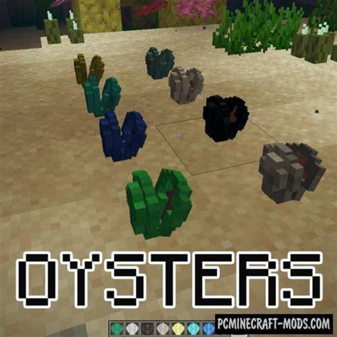 minecraft oysters mod plants mods