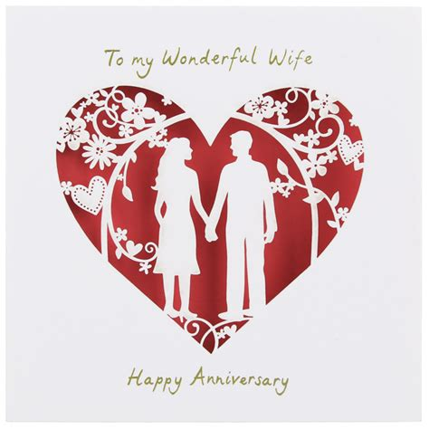 Quotes For Wife Anniversary Card Quotesgram