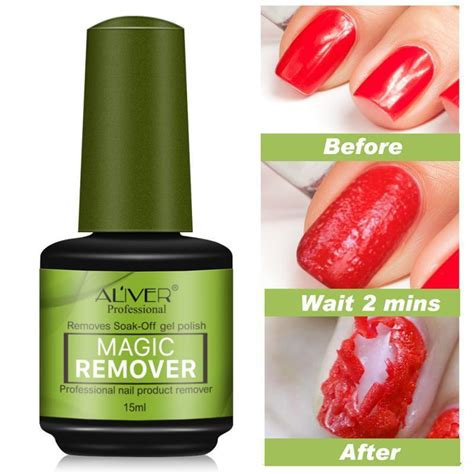 Professional Nail Polish Remover Cleanser Removes Nail Art ...