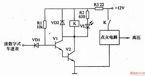 Automotive Speed Limiter - Automotive Circuit - Circuit Diagram