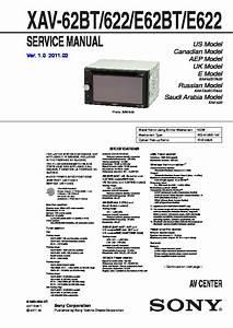 Xav Auto Niort : sony xav 622 xav 62bt xav e622 xav e62bt service manual free download ~ Gottalentnigeria.com Avis de Voitures