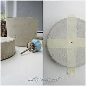Beton Schleifen Schleifpapier : smillas wohngef hl diy schmuckdose aus beton ~ Watch28wear.com Haus und Dekorationen