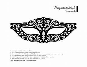 chic masquerade diy mask template sprinkles in With masquerade mask template for adults
