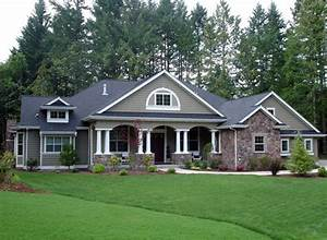 Colonial Country Craftsman House Plan 87646