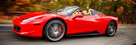458 Italia Spyder by 458 Italia Spider Rental New York Rent A