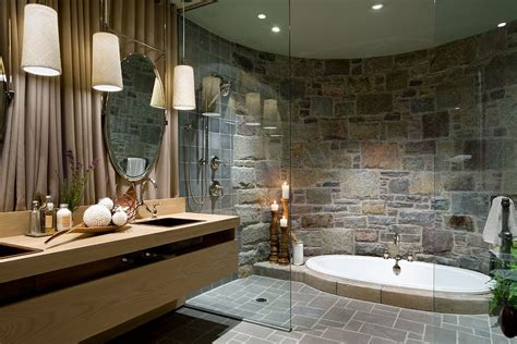 pebble floor tile lowes 30 exquisite and inspired bathrooms with walls