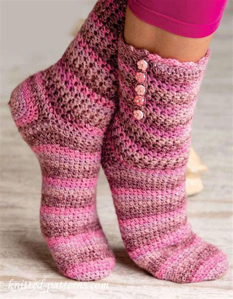 Crochet Socks Pattern Free
