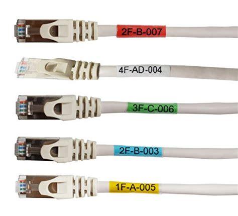label vinyl  laminating printable cable labels
