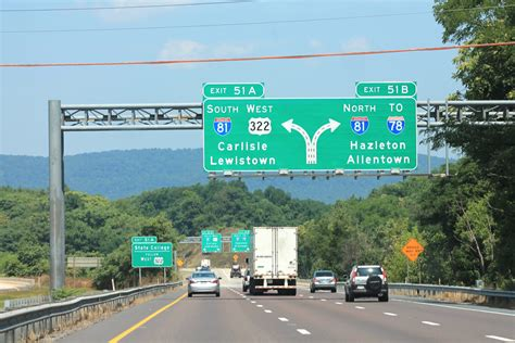 I-83 approaching I-81 - Harrisburg, PA   Jon Dawson   Flickr