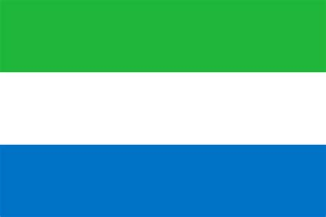 Sierra Leone Map Coloring Pages