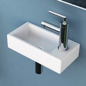Waschbecken Eckig Klein : neutrends neg waschbecken uno41h extra klein eckig ~ Watch28wear.com Haus und Dekorationen