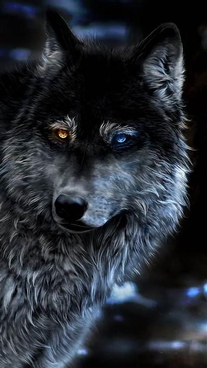 Wolf Fantasy Heterochromia Iphone Wallpapers 4k Phone