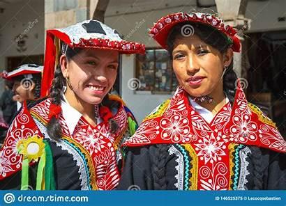 Peru Indigenous Cusco Quechua Smiling Hats Nativas