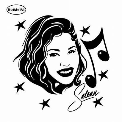 Selena Quintanilla Vinyl Decal Sticker Singer Actress