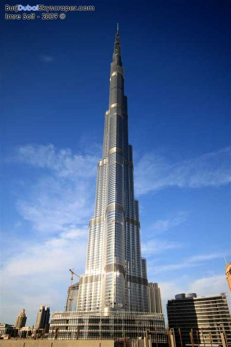 Burj Khalifa Building Dubai Tower