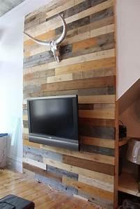 Deco Mur En Bois Planche : des palettes dans la chambre cocon de d coration le blog ~ Dailycaller-alerts.com Idées de Décoration